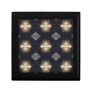 Hip Tan Gray Black Modern Pattern Gift Box