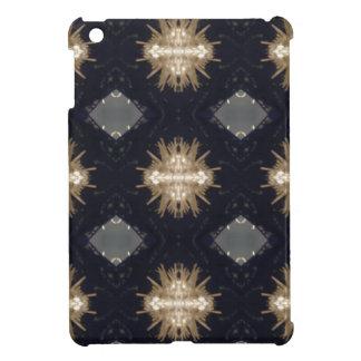 Hip Tan Gray Black Modern Pattern iPad Mini Covers