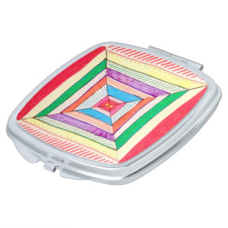 Hip to be Square compact mirror