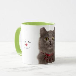 Hip to be tipped mug