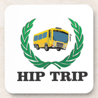 hip trip bus coasters