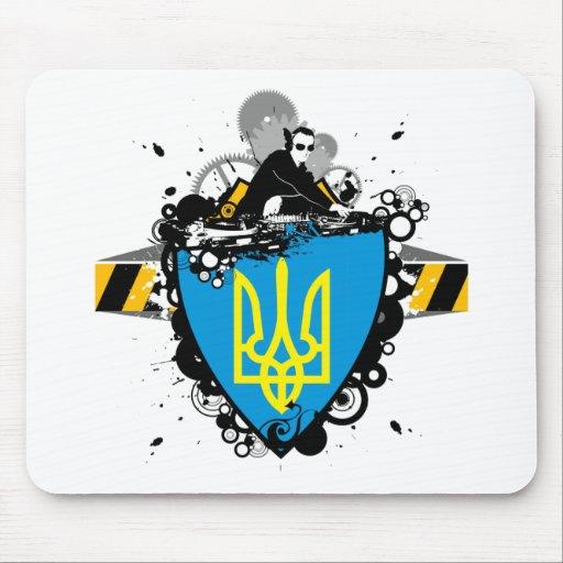 Hip Ukraine Mouse Pads