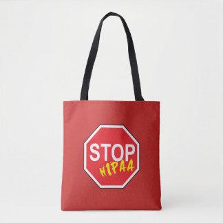 HIPAA STOP TOTE BAG