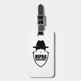 HIPAA Undercover Luggage Tag