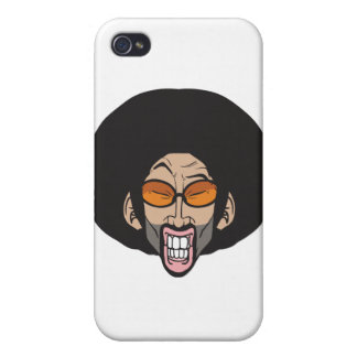 Hiphop Afro man Cases For iPhone 4
