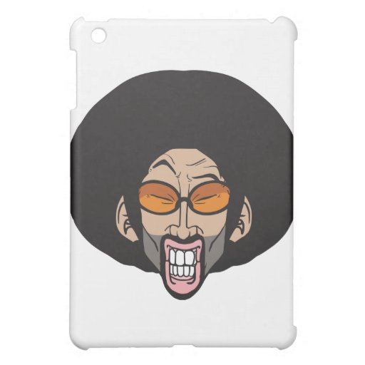 Hiphop Afro man iPad Mini Cover