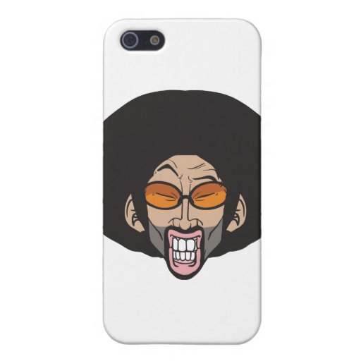 Hiphop Afro man Cover For iPhone 5
