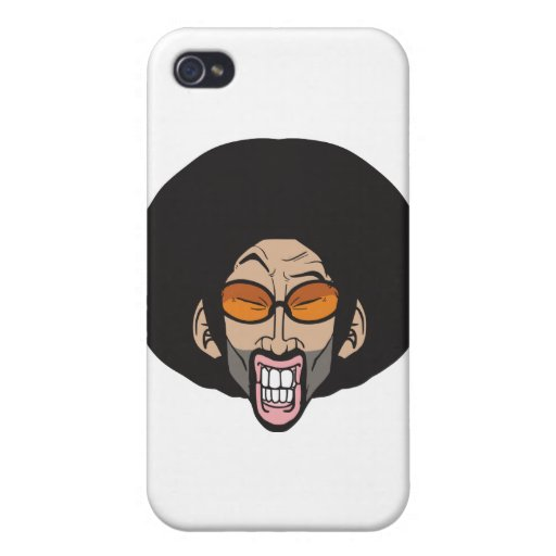 Hiphop Afro man iPhone 4 Case