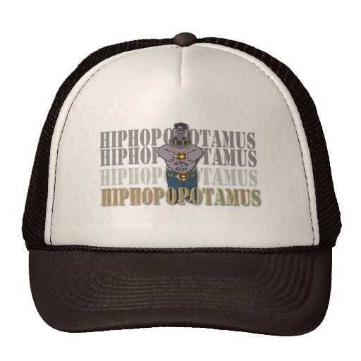 Hiphop-opotamus Hats