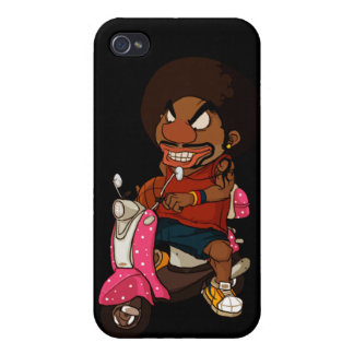 Hiphop Rider iPhone 4/4S Case