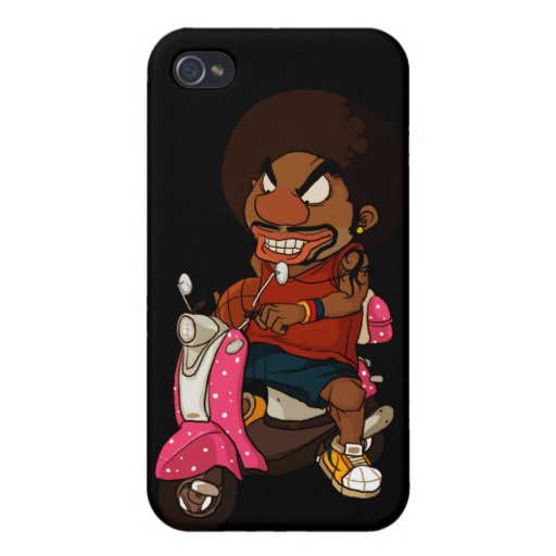 Hiphop Rider iPhone 4 Cover