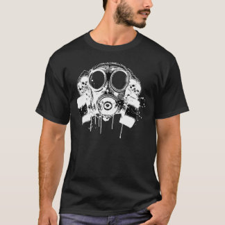 Hiphop sucker free gas mask T-Shirt