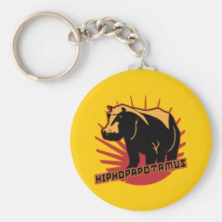 hiphopapotamus rhymenocerous key chains