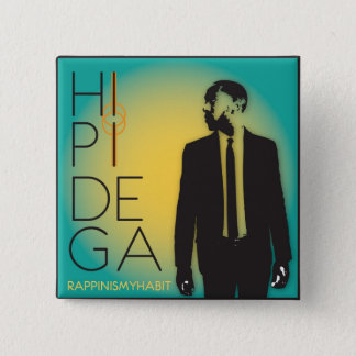 Hipi Dega Album Art Pin