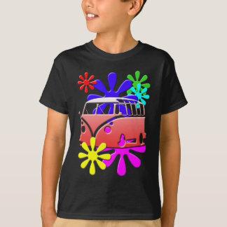 HIPPE BUS FLOWER POWER T-Shirt