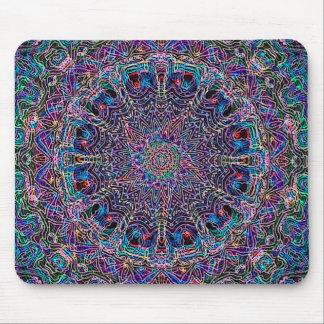 Hippie Art Psychadelic Print Mouse Pad
