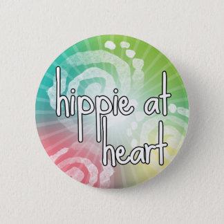 Hippie at Heart 2 Inch Round Button
