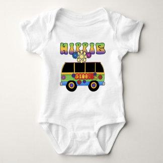 Hippie Bus Baby Baby Bodysuit