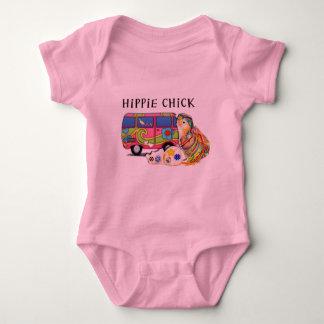 Hippie Chick Baby Bodysuit