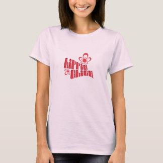 Hippie Chick Baby Doll T-Shirt