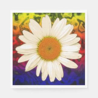 Hippie Daisy Paper Napkin