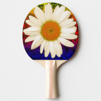 Hippie Daisy Ping Pong Paddle