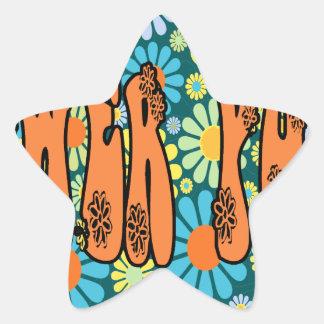 Hippie Days FLOWER POWER Stickers