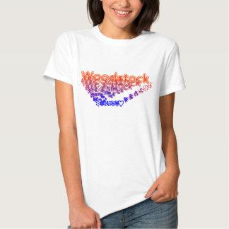 Hippie de Woodstock Tshirts