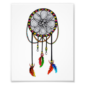 Hippie Dream Catcher Photo Print