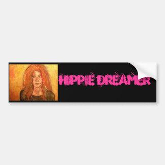 Hippie Dreamer Bumper Sticker