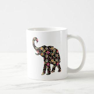 Hippie Elephant Coffee Mug