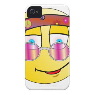 Hippie Face Case-Mate iPhone 4 Cases