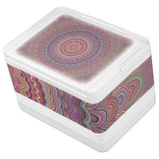 Hippie geometric mandala