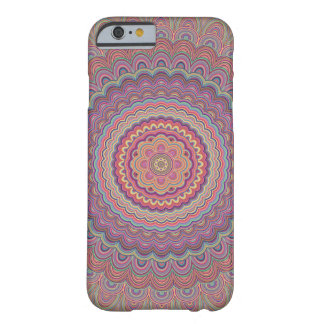Hippie geometric mandala barely there iPhone 6 case