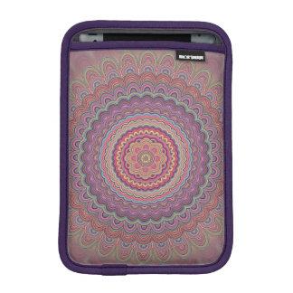 Hippie geometric mandala iPad mini sleeve