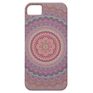 Hippie geometric mandala iPhone 5 case