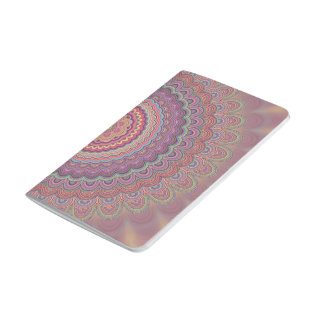 Hippie geometric mandala journal