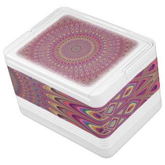 Hippie grid mandala