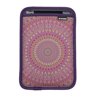 Hippie grid mandala iPad mini sleeve