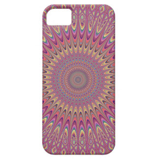 Hippie grid mandala iPhone 5 cover