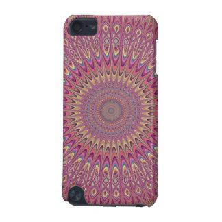 Hippie grid mandala iPod touch (5th generation) case