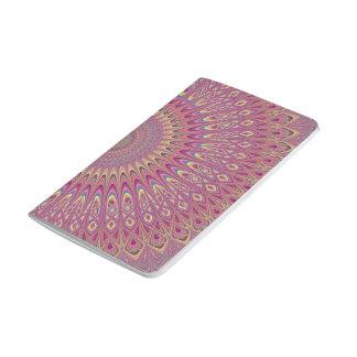 Hippie grid mandala journal