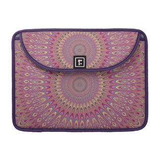 Hippie grid mandala sleeve for MacBook pro