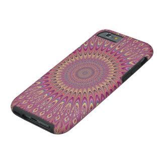 Hippie grid mandala tough iPhone 6 case