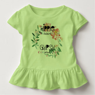 Hippie Heart Gypsy Soul Toddler T-shirt
