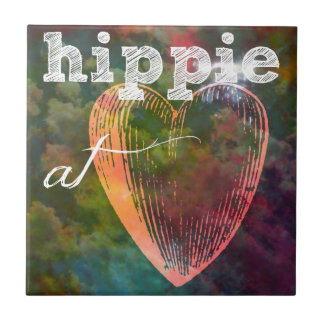 Hippie Heart Tile