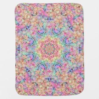 Hippie Kaleidoscope   Baby Blankets