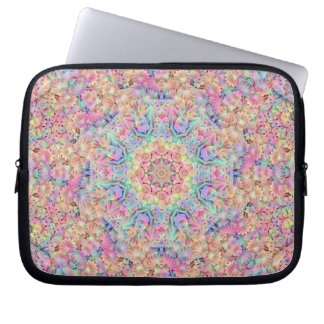 Hippie Kaleidoscope   Neoprene Laptop Sleeves