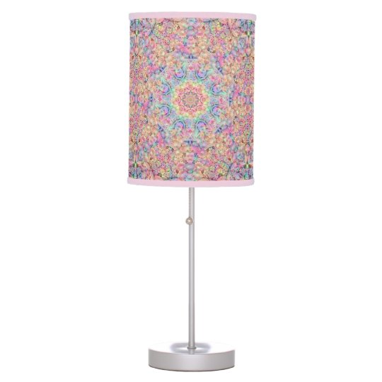 Hippie Kaleidoscope    Table Lamps