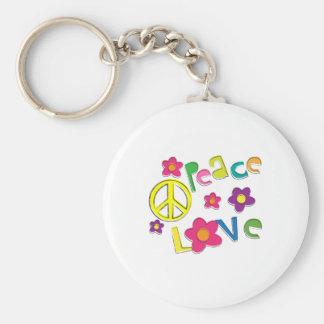 hippie keychain